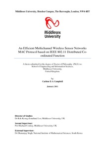 thesis on mac protocols Cognitive mac protocols for mobile ad-hoc networks abdullah masrub a thesis submitted in fulfilment of the requirements for the degree of doctor of philosophy (phd.
