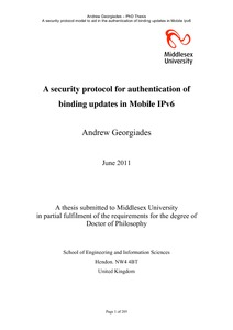 ipv6 security thesis  · what are some thesis topics based on networking or network hot topics in wireless network security one should do a thesis on network security ipv4/ipv6.